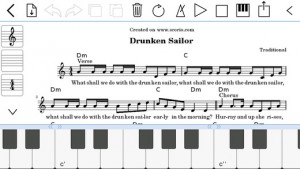 Music Notator - apps para aprender escritura musical